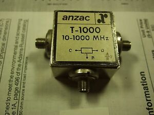 Anzac T 1000 10 1000mhz Power Divider Sma Used