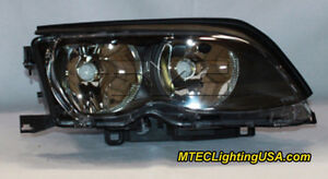 Tyc Right Side Halogen Headlight Lamp Assembly For Bmw E46 3 Series 2002 2005