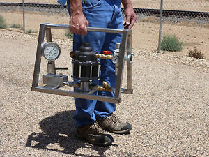 Hydrostatic Test Pump Portable Air Operated High Pressure 5 000 Psi