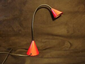 Rare Vintage Mid Century Italian Egoluce Twist Table Lamp By Sandy Renko