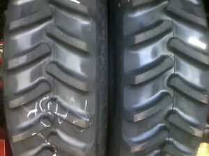 2 Firestone 18 4x38 8ply R1 Bar Lug Tubeless Farm Ag Tractor Tires Fit J Deere