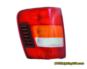 Tyc Nsf Left Side Tail Light Lamp Assembly For Jeep Grand Cherokee 2002 2004