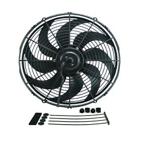 Derale 18916 Dyno Cool 16 Curved Blade Electric Fan