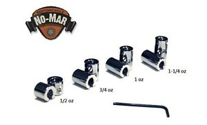 RE USEABLE CHROME PLATED BRASS MOTORCYCLE SPOKE WHEEL WEIGHTS BY NO MAR 8 PC Kit $35.99