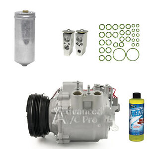 New Ac A c Compressor Kit Fits 2003 2004 2005 Honda Civic Hybrid 1 3l Electric