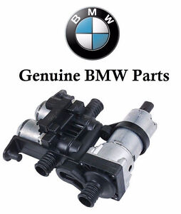 New Bmw E38 E39 Heater Control Valve With Auxiliary Water Pump 64118374994
