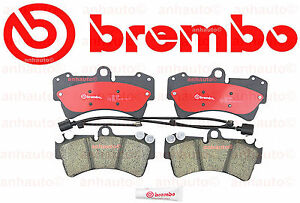 New Brembo Front Ceramic Brake Pad S With Sensors Fits 350mm Disc Audi