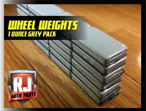 1 Oz Wheel Weights Stick On Adhesive Tape 40 Pcs 40 Oz Total Weight