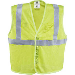 Dicke Safety Products Class 2 Flame resistant Mesh Safety Vest Large 44 46