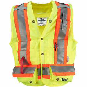 Medium Lime Viking Class 2 Surveyor Safety Vest