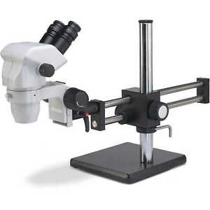 Accu scope Binocular Zoom Stereo Microscope With Ball Bearing Boom Stand