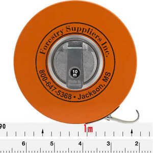 Forestry Suppliers Metric Fabric Diameter Tape Model 283d 10m