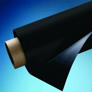 24 X 5 Roll Magnetic Sheeting Black Vinyl 20 Mil Thick Free Shipping