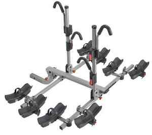 Yakima 8002469 Fourtimer 4 Bike Rear Carrier For 2 Hitch W Sks Hitch Lock