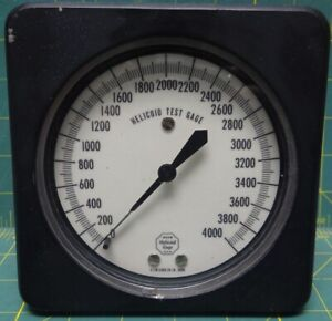 Acco Helicoid 4 1 2 Helicoid Test Gage 0 4000 Psi