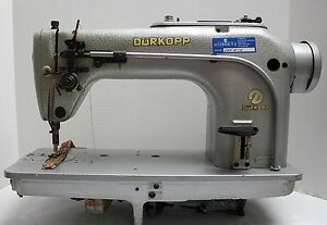 Durkopp 211 Lockstitch Reverse Heavy Duty Industrial Sewing Machine Head Only