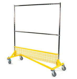 Rgr Series Of Rolling Garment z Racks 125 hazelwood Anywhere