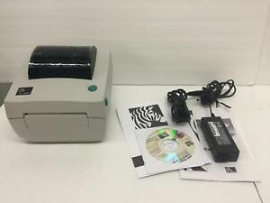 Zebra Lp2844 Thermal Label Printer Usb Serial Parallel 2844 20300 001