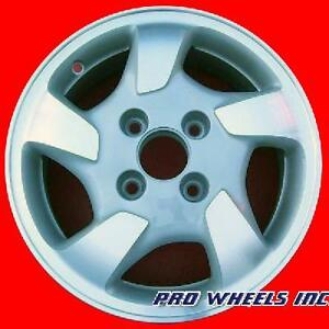 Honda Accord 1998 1999 2000 15 Machined Silver Original Oem Wheel Rim 63775