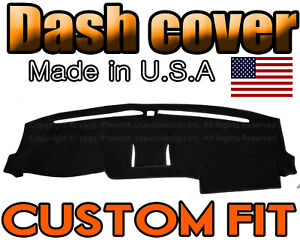 Fits 2015 2018 Ford F150 Dash Cover Mat Dashboard Pad Black