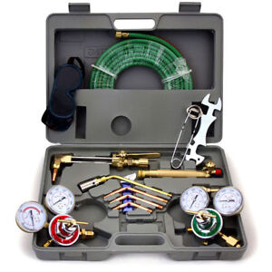 Harris Type Gas Welding Cutting Kit Tools Oxygen Torch Acetylene Welder Tool