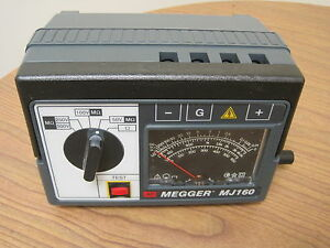 Megger Mj160 Insulation Tester