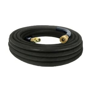 Be Pressure Single Braid 50 3 8 in Pressure Washer Rubber Hose W Fittings New
