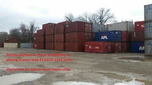 40 High Cube Shipping Storage Container Kansas City Mo
