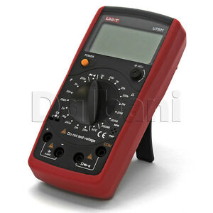 Ut601 Original New Uni t Digital Inductance Multimeter Capacitor Tester