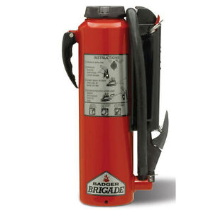 Badger Brigade 10 Lb Abc Fire Extinguisher Model 466521 New In Box Great Buy