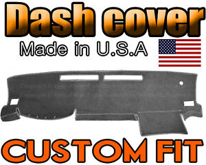Fits 2016 2018 Toyota Tacoma Dash Cover Mat Dashboard Pad Charcoal Grey