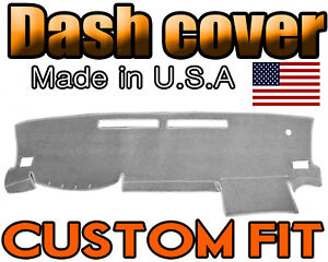 Fits 2016 2018 Toyota Tacoma Dash Cover Mat Dashboard Pad Light Grey