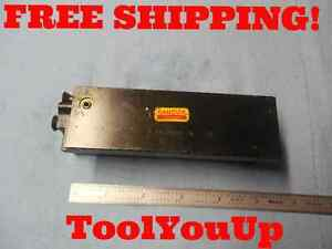Sandvik Rc Mbs6 20 Adapter Tool Holder Grooving Block New Old Stock Tooling Tool