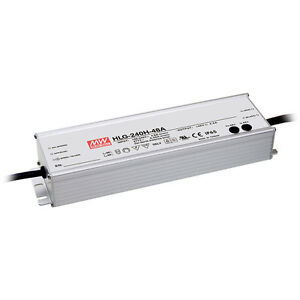 Mean Well Hlg 240h 24b 24v 10a 240 Watt Enclosed Switching Led Power Supply