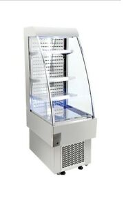 Omcan Rs cn 0230 Open Air 8 1cf 24 Refrigerated Grab And Go Display Case New