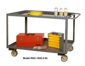 30 X 18 Durham Rsc 1830 2 95 Rolling Stock Industrial Service Cart Brand New
