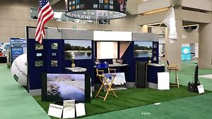 20ft Long Nice Trade Show Booth