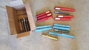 Huge Lot Brown Sharpe End Mill 4 6 Flute 1 1 4 Dia X 1 1 4 X 8 1 2 Oal