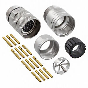 Ma1cap1700m kit 17 Pos Connector Male Pins Counter clockwise Rotation
