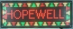 Rgb Full Color Programmable Led Sign