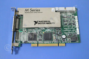 National Instruments Pci 6251 Ni Daq Card Analog Input Multifunction