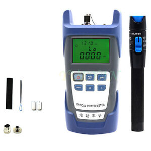 Fiber Optical Power Meter And 5km 1mv Visual Fault Locator Fiber Optic Cable Ry1