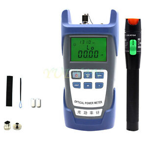 Fiber Optical Power Meter 30km 30mv Visual Fault Locator Fiber Optic Cable Ry30