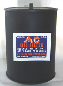 Buick Cadillac Oil Filter Upgrade 1931 32 33 34 35