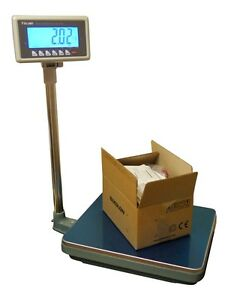 200 Lbs X 0 05 Lb Mbw Ntep Weighing Platform Industrial Shipping Warehouse Scale