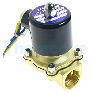 2 Position Dc 12v 3 4 Solid Coil Electric Solenoid Valve Gas Water Fuels Air