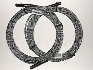 1 Set Of 2 Rotary Lift Spoa10 Equalizer Cable n372 Brand New