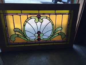 Sg 559 Antique Stainglass Victorian Window Schell Design