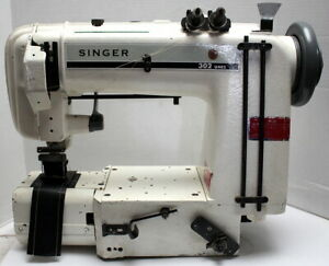 Singer 302w101 Chainstitch 4 needle Cylinder Bed Industrial Sewing Machine 220v