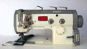 Pfaff 1426 Walking Foot 2 needle 1 1 4 Gauge Big Hook Industrial Sewing Machine